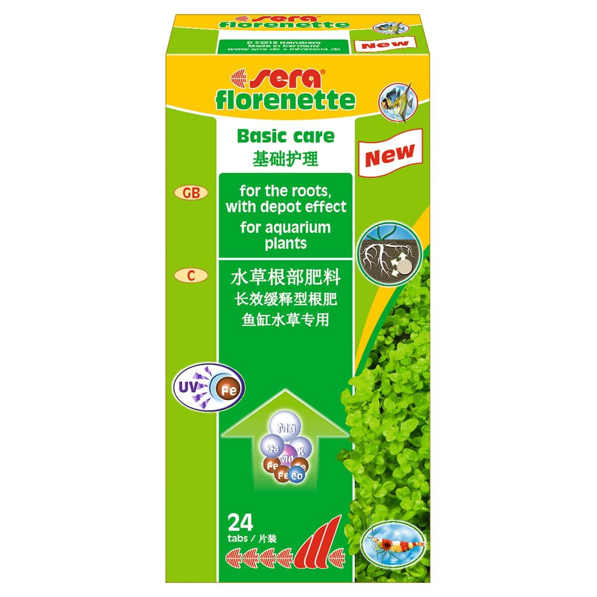 Kit Suplementos+Substrato para Aquários Plantados Sera Flore