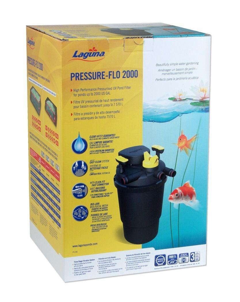 Laguna Filtro Pressurizado com UVC 2000
