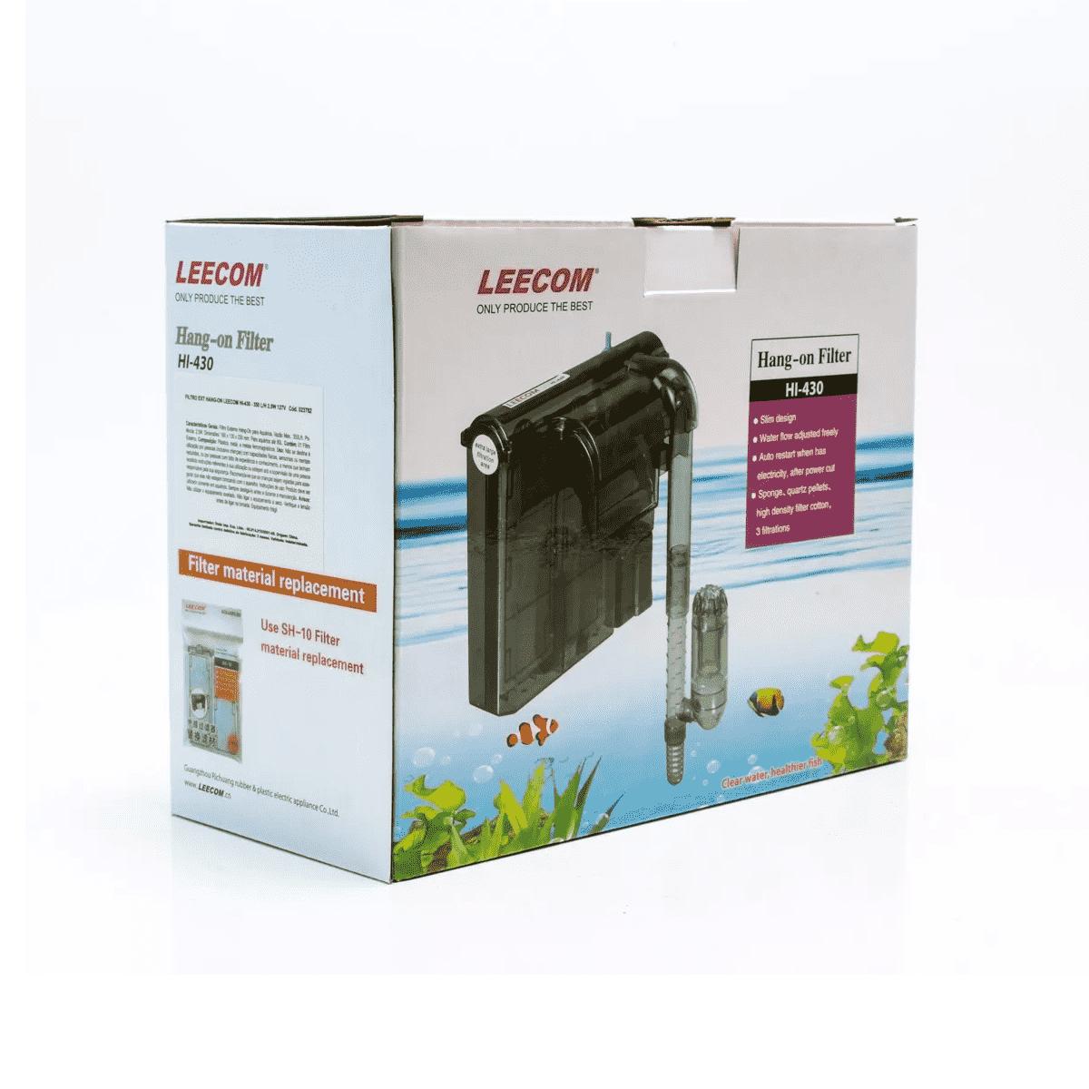 Filtro Externo para Aquários Leecom Hang-on Filter HI-430