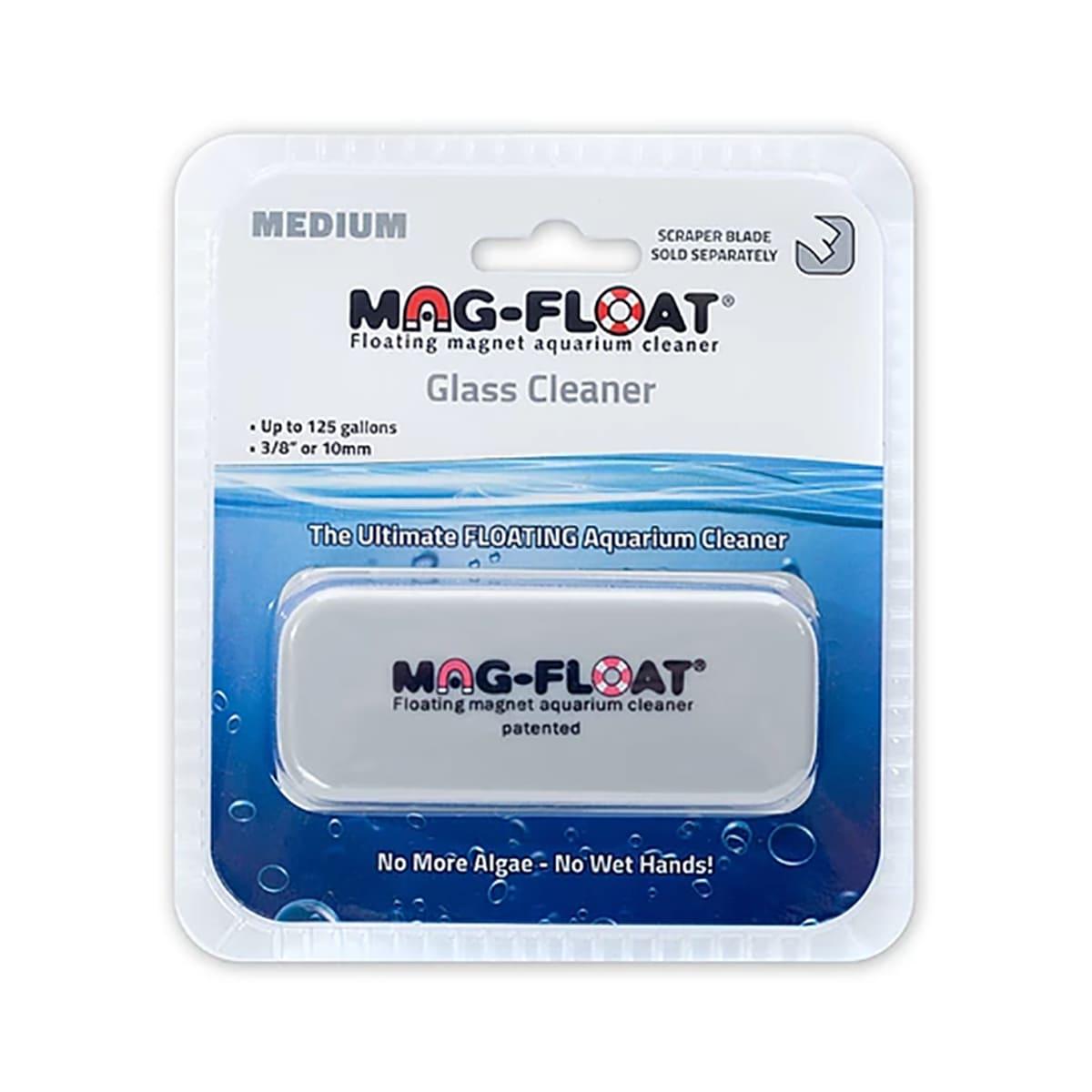 Limpador Magnético Mag-float (Medium) - Vidros até 10mm