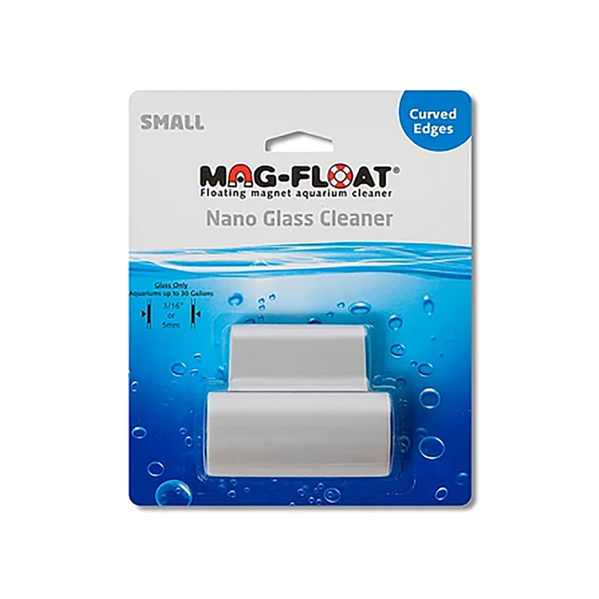 Limpador Magnético Mag-float (Nano) - Vidros Curvos até 5mm