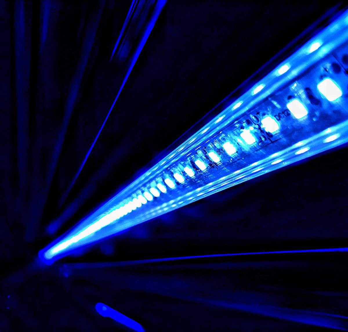 Luminária Althea PacificSun Híbrida T5 4x80W+2x LED 36x150cm