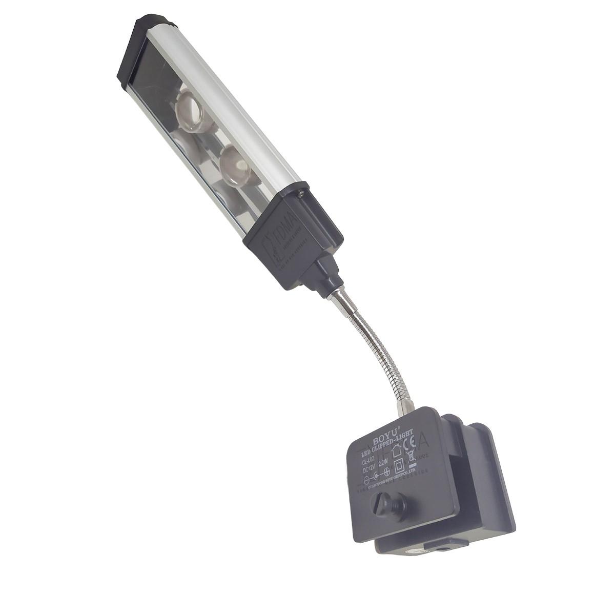 Luminária Led Boyu CL-L02 2.2w Focal Bivolt Pequenos Aquários
