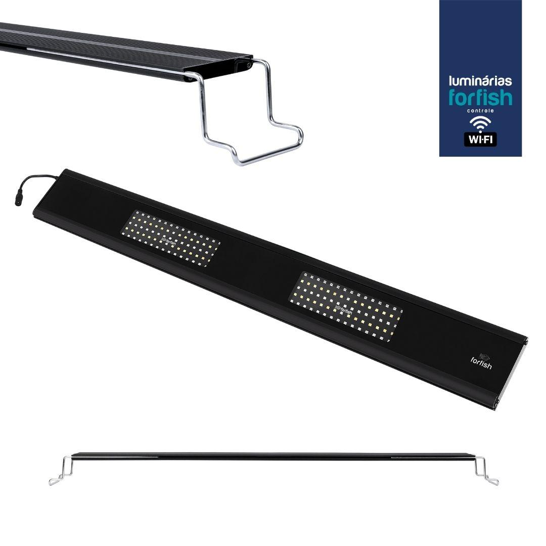 Luminária LED ForFish 80W p/ Aquários Marinhos de 95 a 137cm