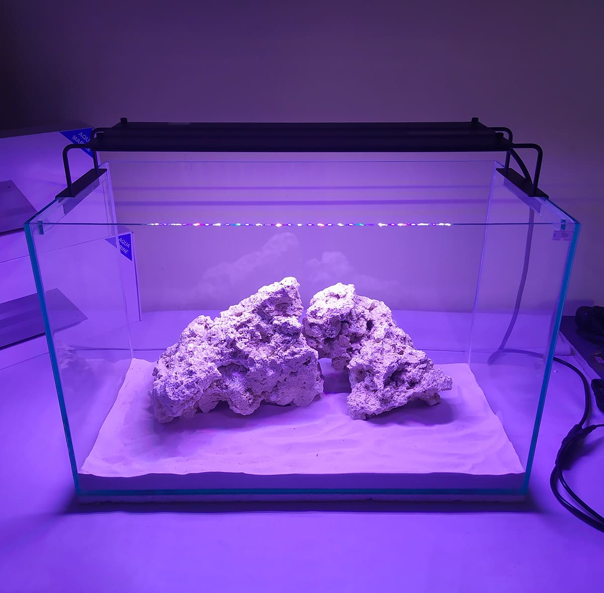 Luminária Led Nemo Light Marinho 72w Garantia De 1 Ano