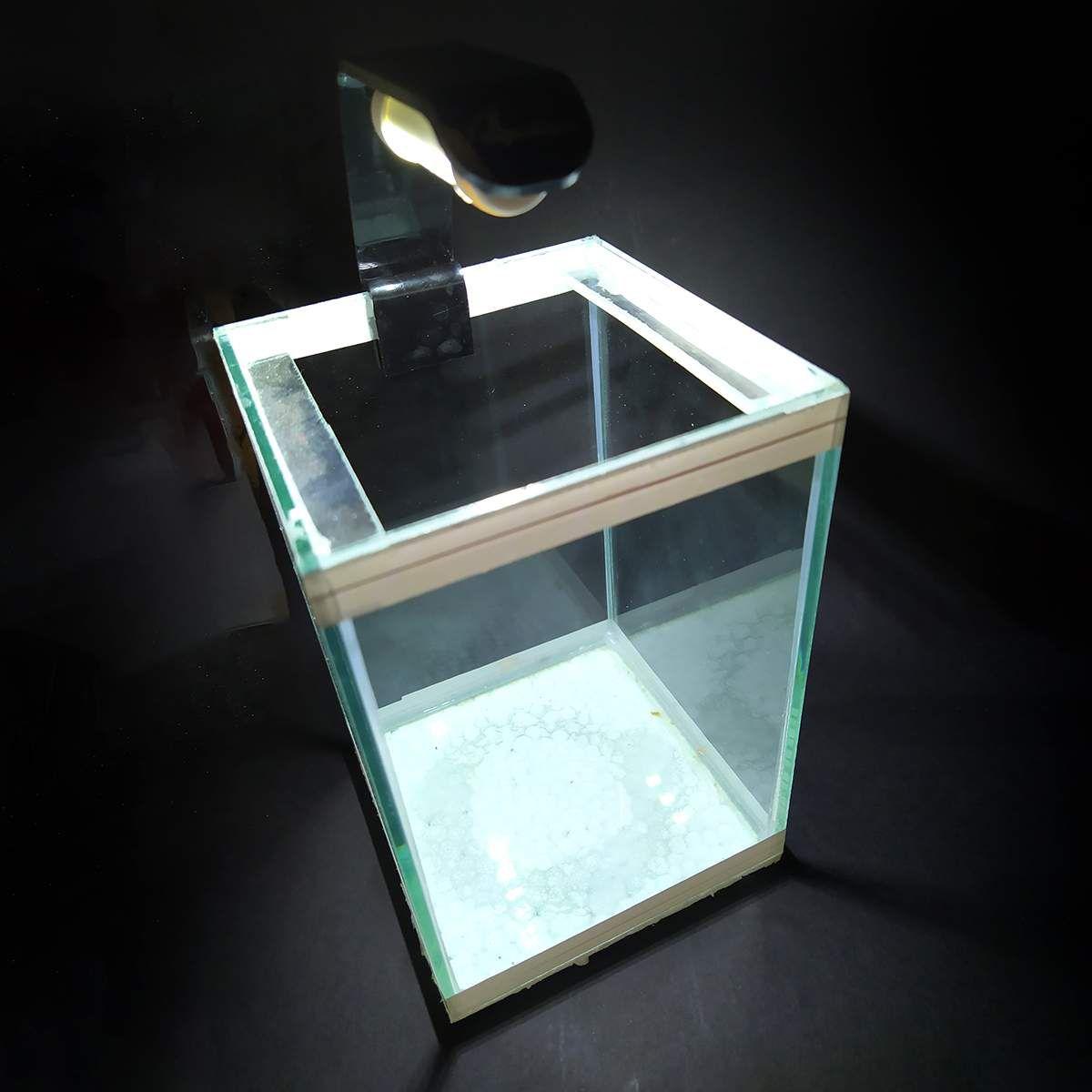 Luminária LED para Aquários Betta Aqualumi Dupla Branca