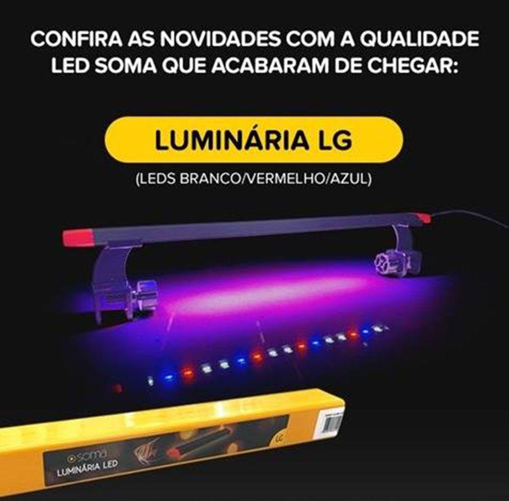 Luminária Led para Aquários Soma LG 800 -  (14,5W) 80cm