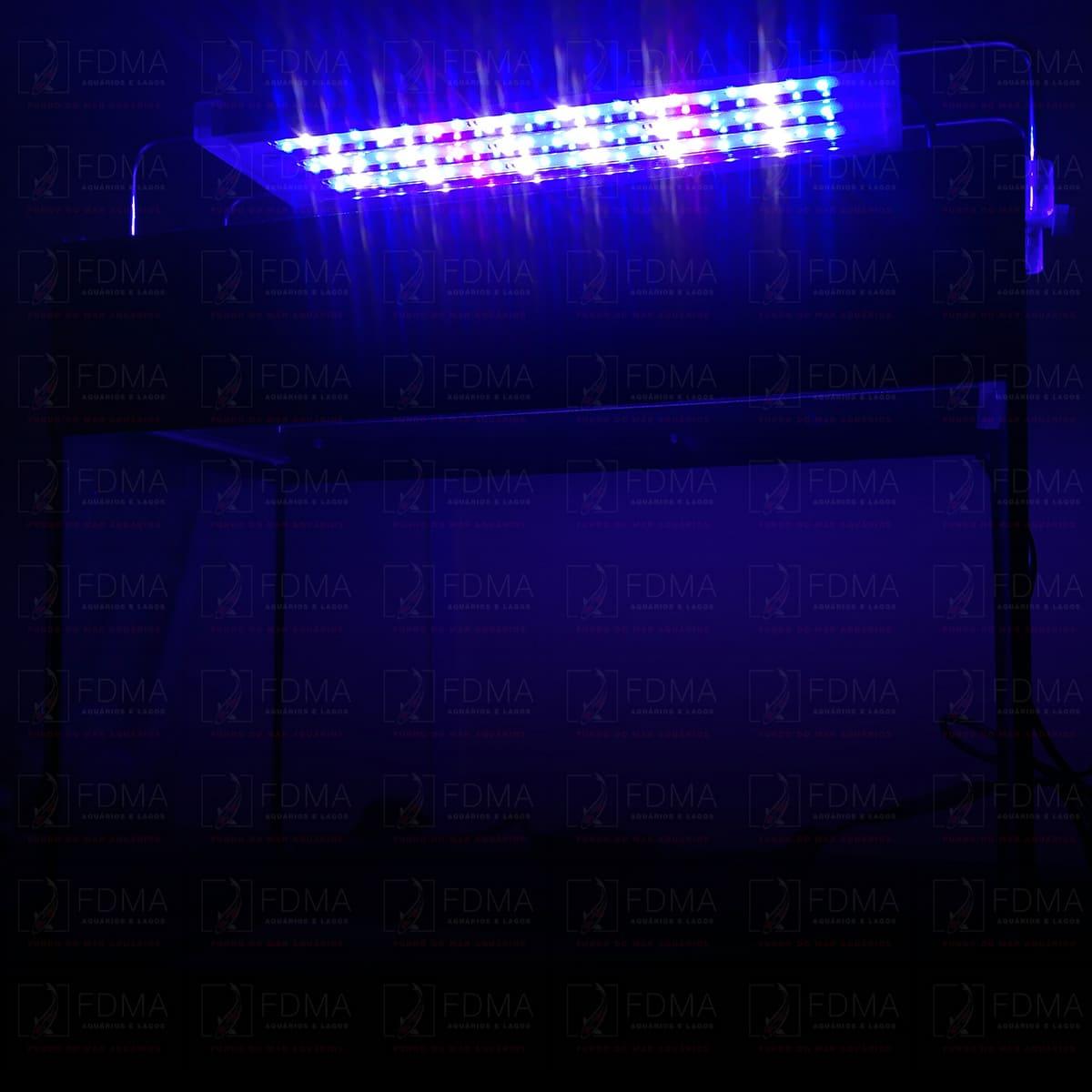 Luminária para Aquários Marinhos SUNSUN ADS-300H BIVOLT 38 a 55cm