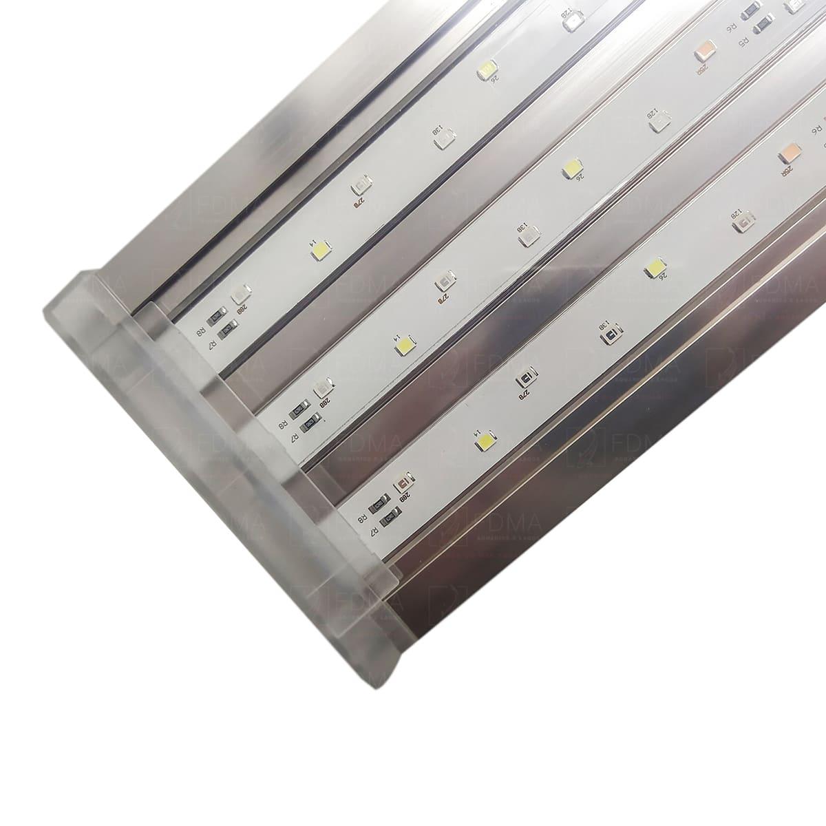 Luminária para Aquários Marinhos SUNSUN ADS-700H BIVOLT 78 a 95cm