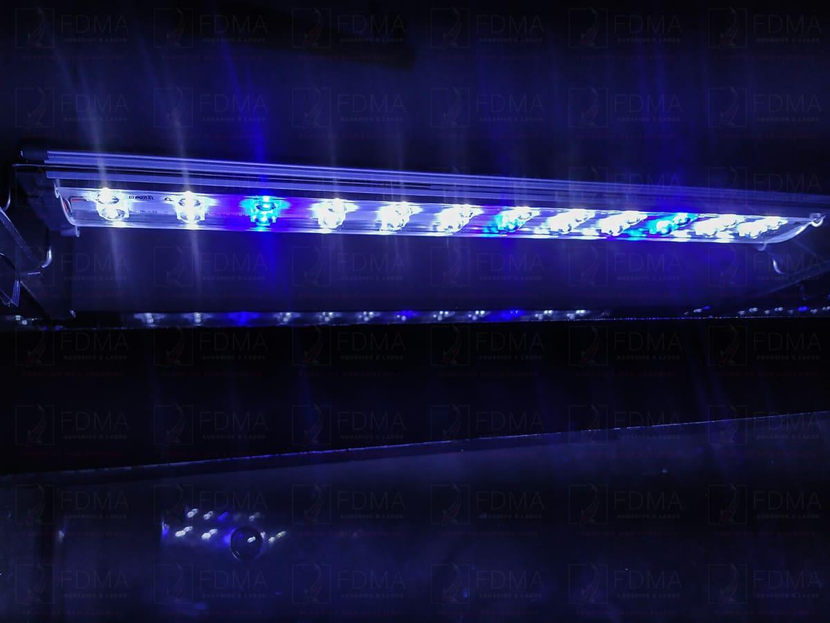 Luminária para Aquários Plantados SUNSUN SL-600 Branco/Azul