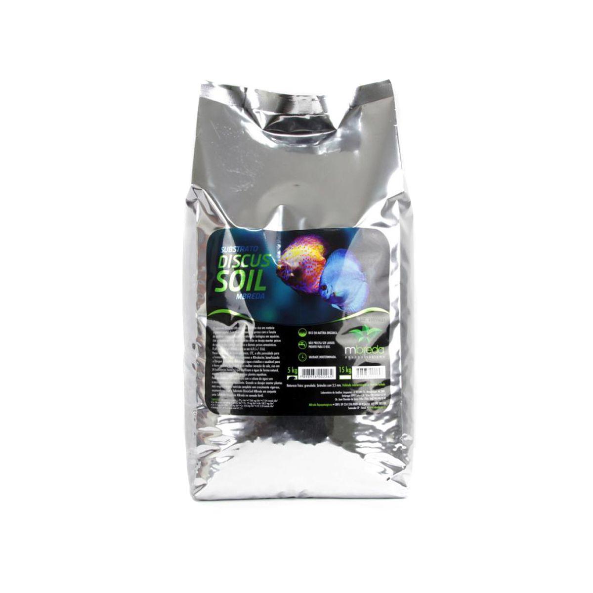 Mbreda Substrato Discus Soil 5kg P/ Acará Disco + Brinde