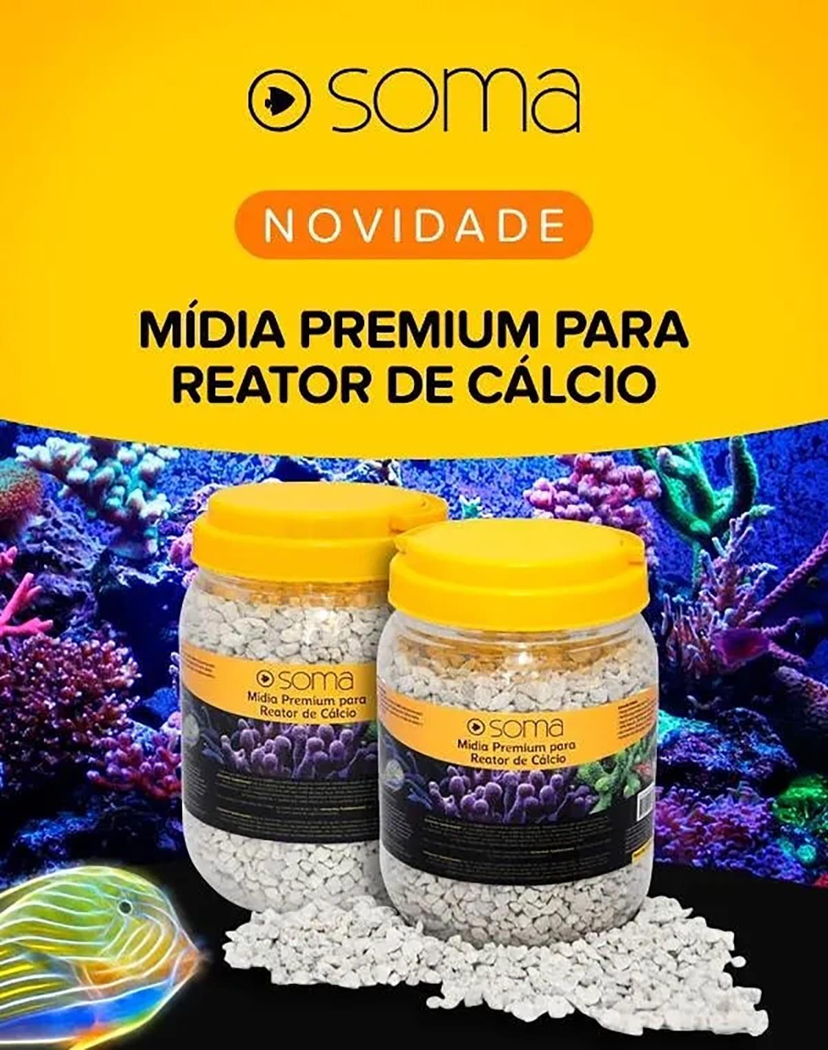 Mídia Premium para Reator de Cálcio Soma Premium 2,2kg
