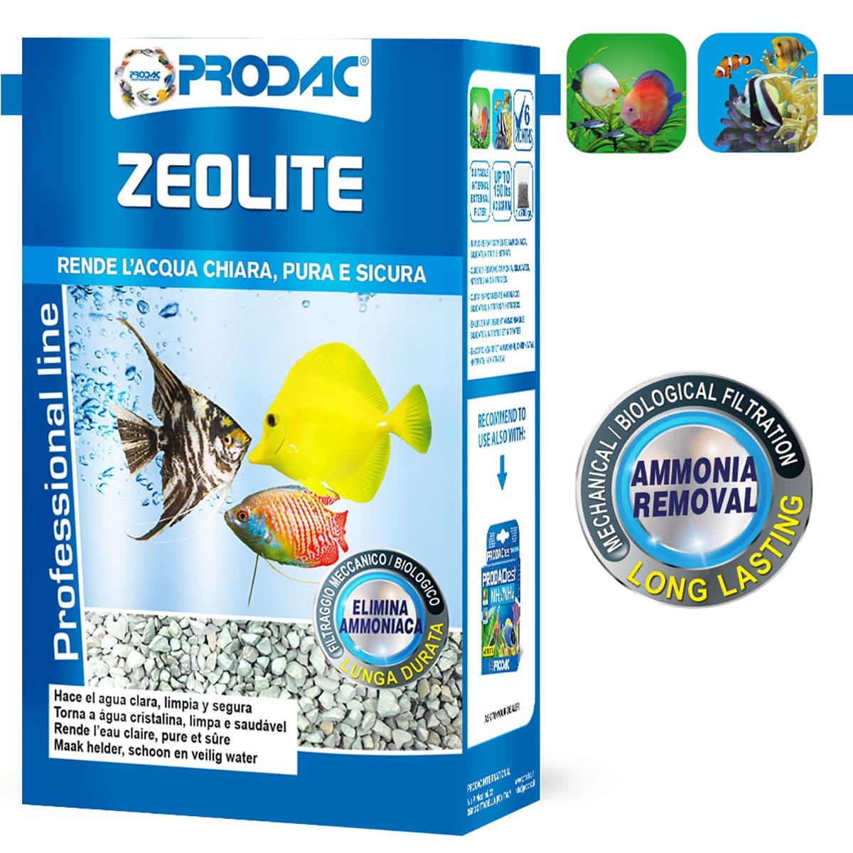 Prodac Zeolite 700g Mídia Removedora de Amônia