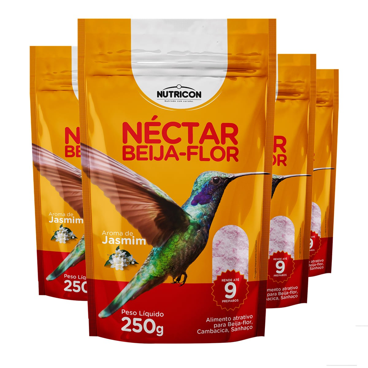 Nutricon Néctar para Beija-Flor 1kg - Alimento atrativo