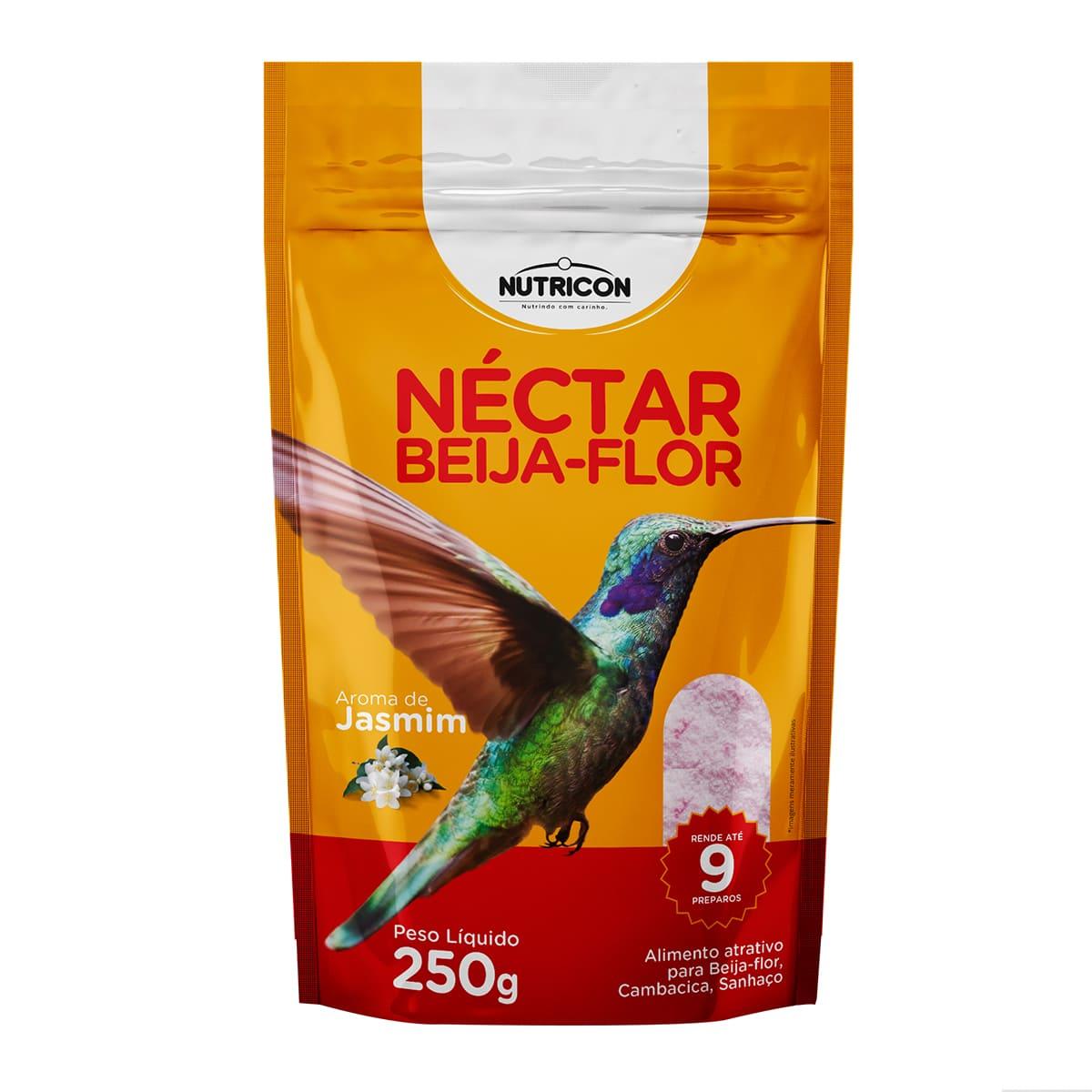 Nutricon Néctar para Beija-Flor 250g - Alimento atrativo