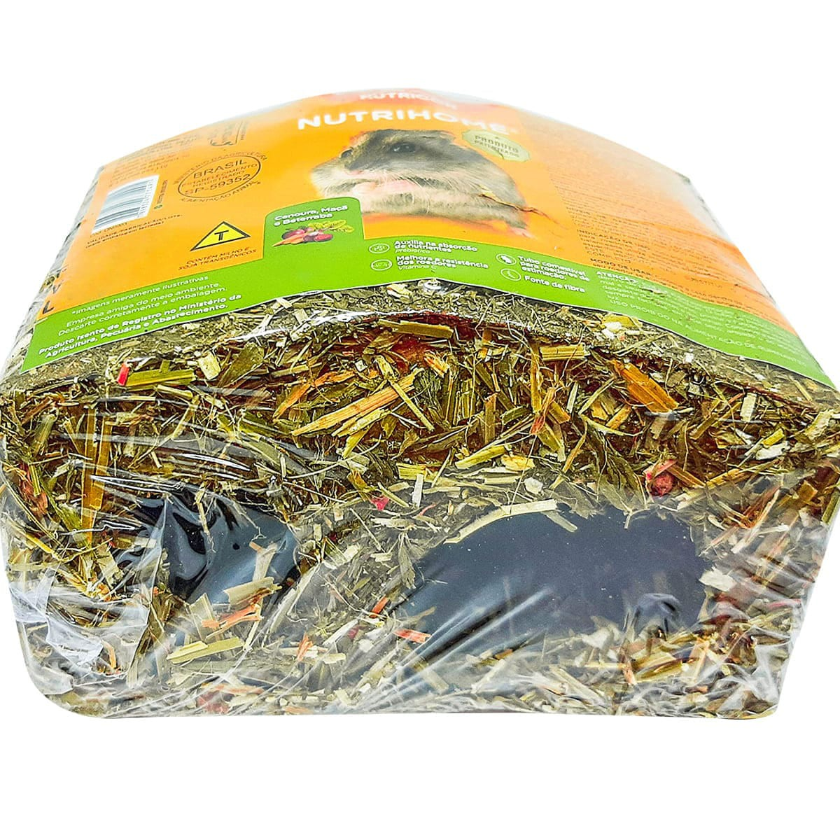 Nutricon Nutrihome 85g - Casinha comestível para Roedores