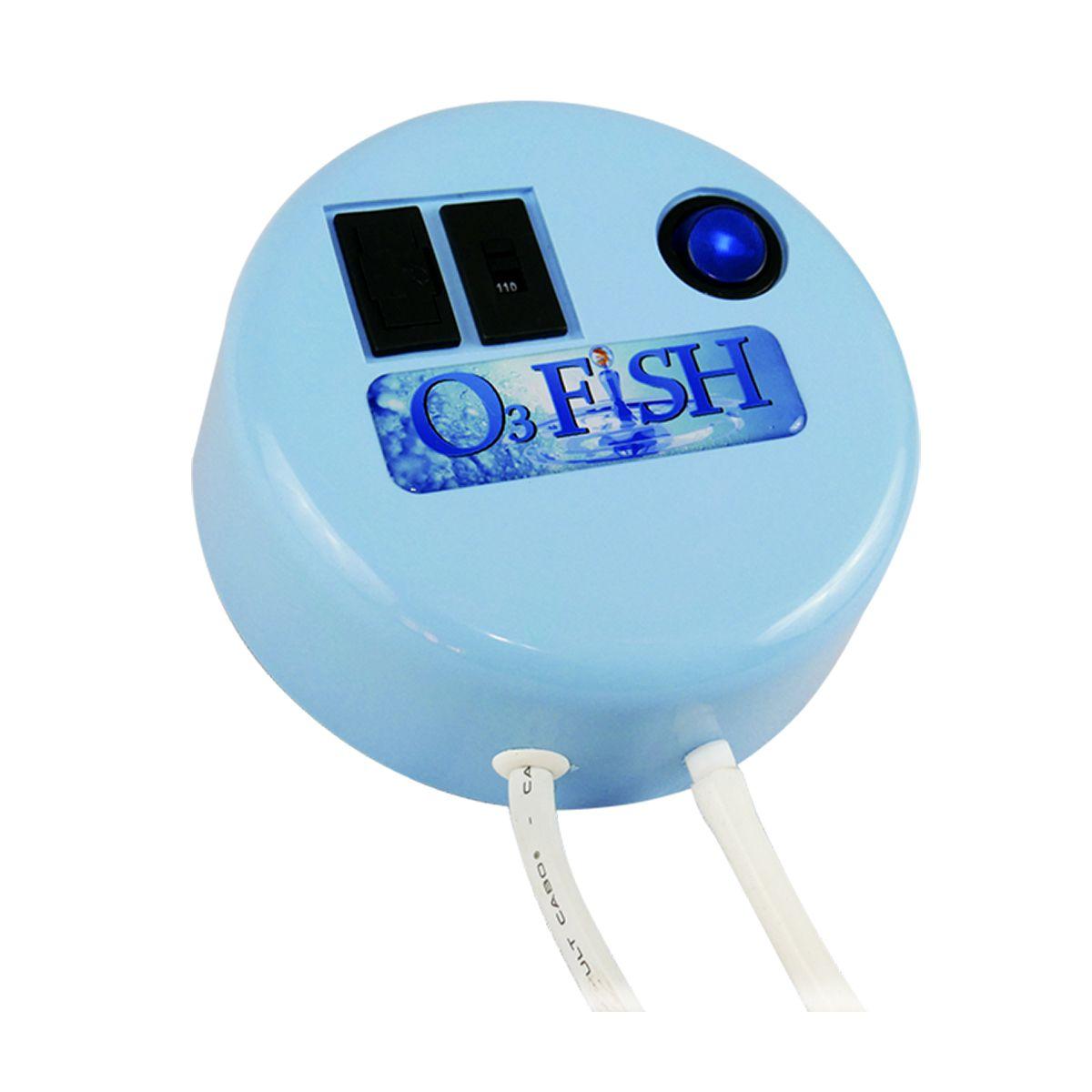 O3 Fish Gerador Ozônio Aquário Água Doce Marinho