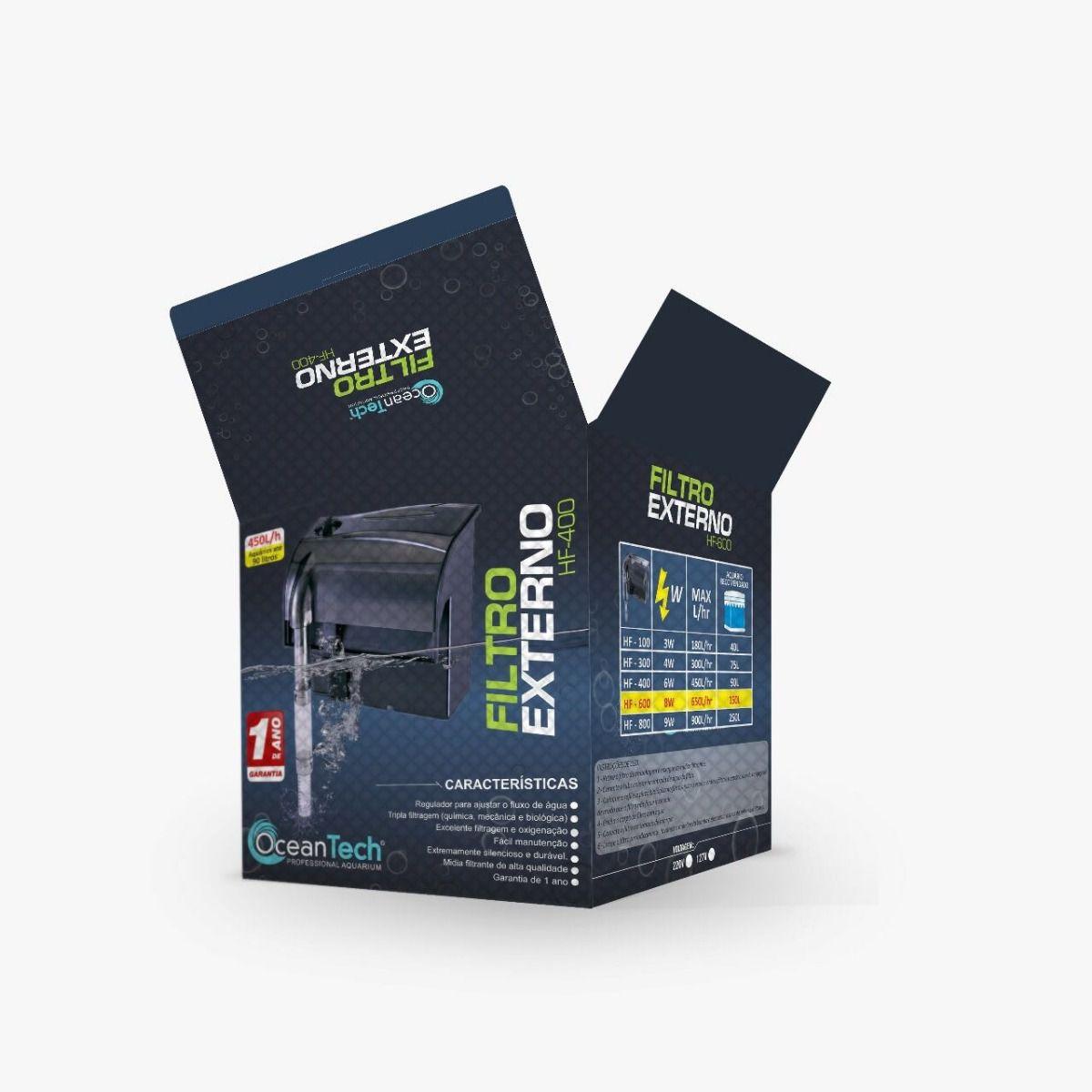 Ocean Tech Filtro Externo Hf-0400 - Até 90l