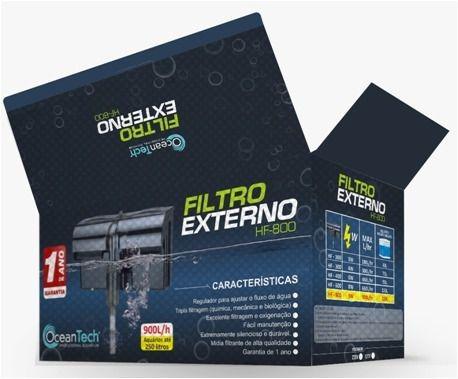 Ocean Tech Filtro Externo Hf-0800 - Até 250l