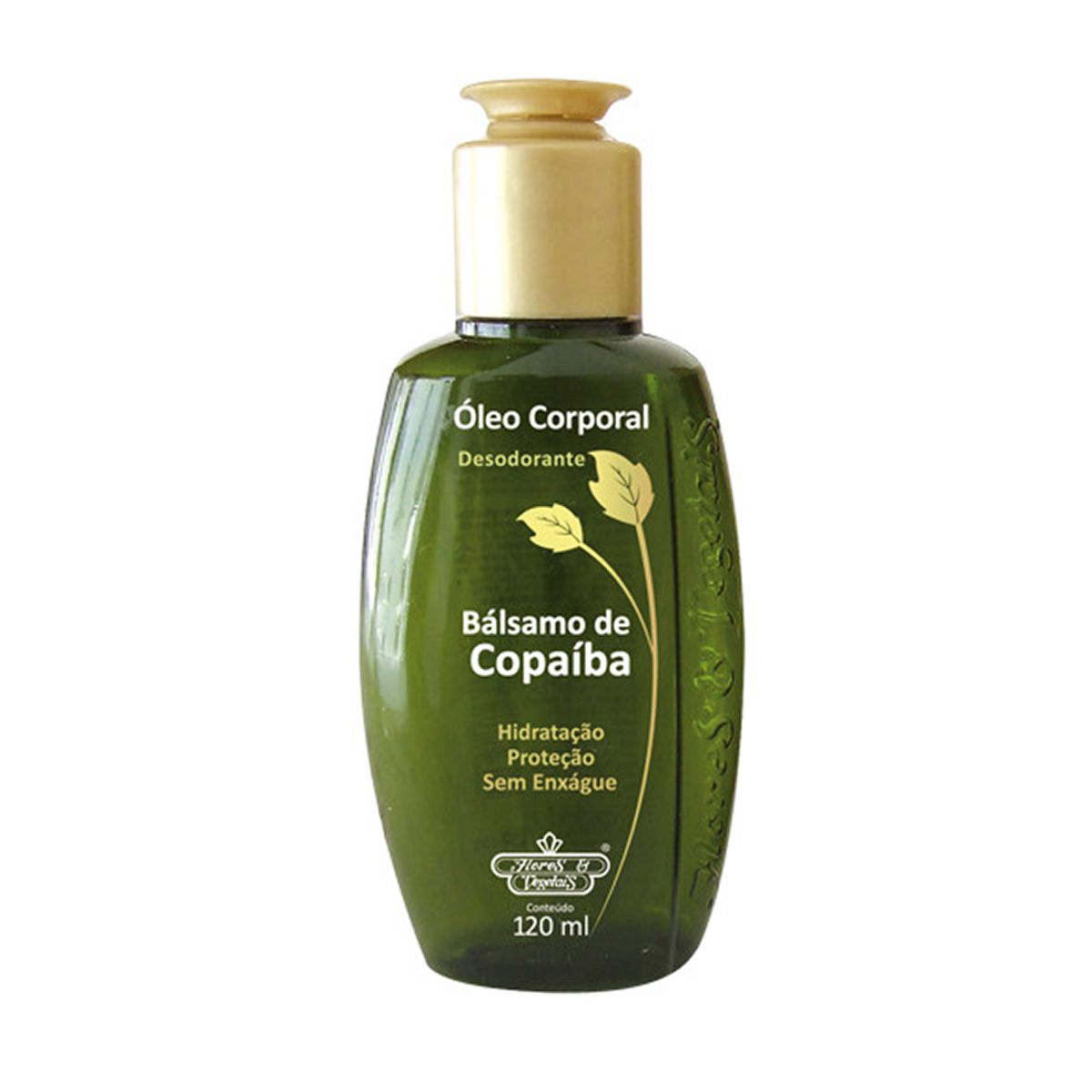 Óleo Corporal Des Bálsamo de Copaíba Flores e Vegetais 120ML
