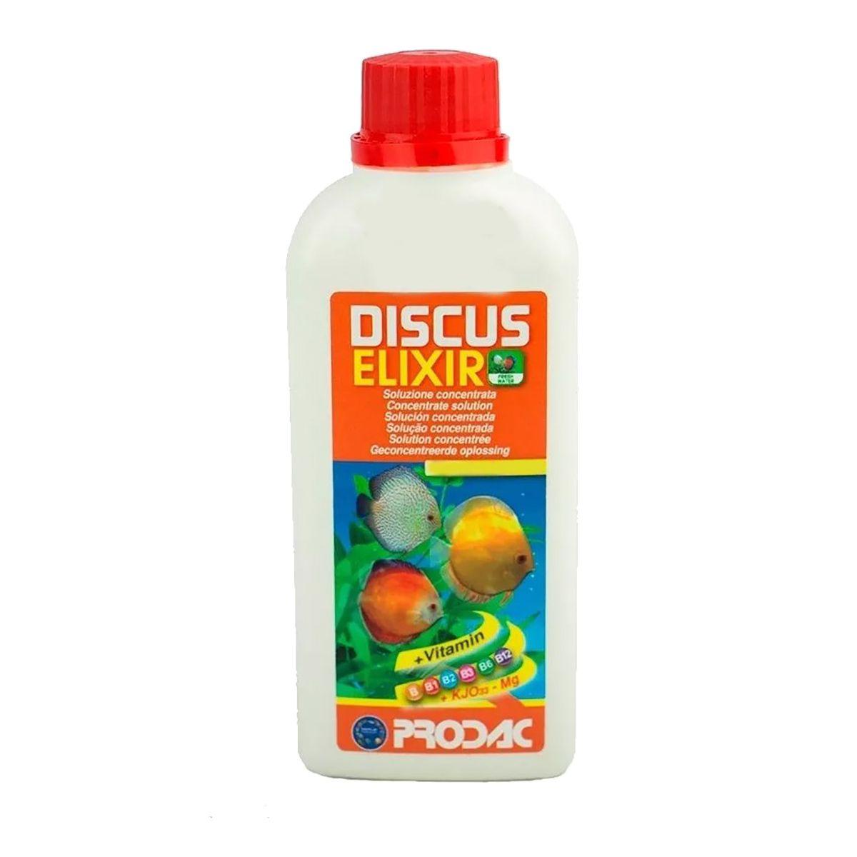 Prodac Discus Elixir 250ml Vitamina Para Discos Dose 500 lts