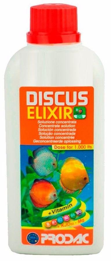 Prodac Discus Elixir 250ml Vitamina Para Discos dose 1000lts