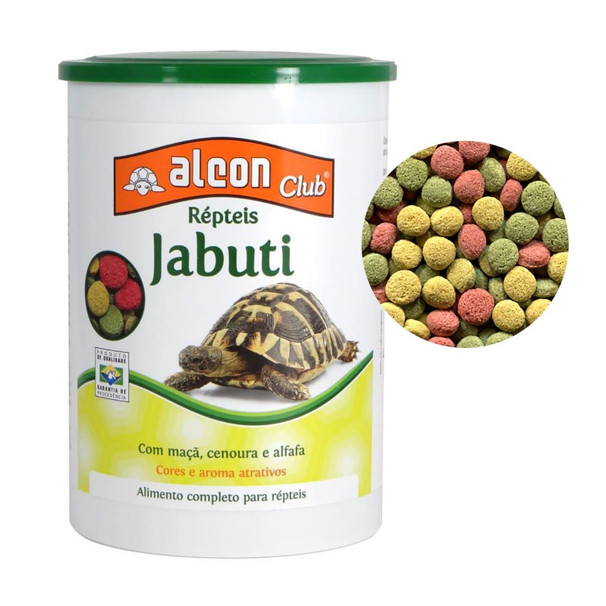 Ração Alcon Club Jabuti 80g Fortalecimento e Crescimento
