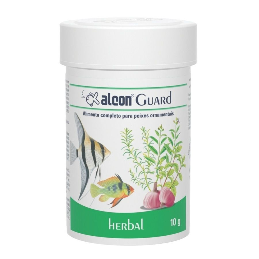 Kit Ração Medicamentosa Alcon Guard - 10g