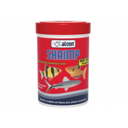 Ração Flocos a base de Camarão Alcon Shrimp - 10g