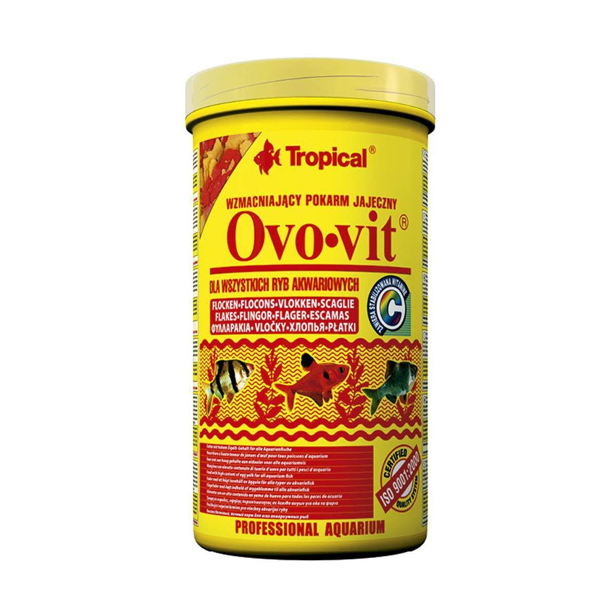 Ração de Proteína de Ovos Tropical Ovo Vit - 50g