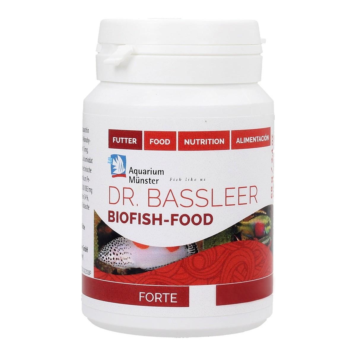 Ração Dr Bassleer Biofish Forte XL 68g Peixes mais Saudáveis