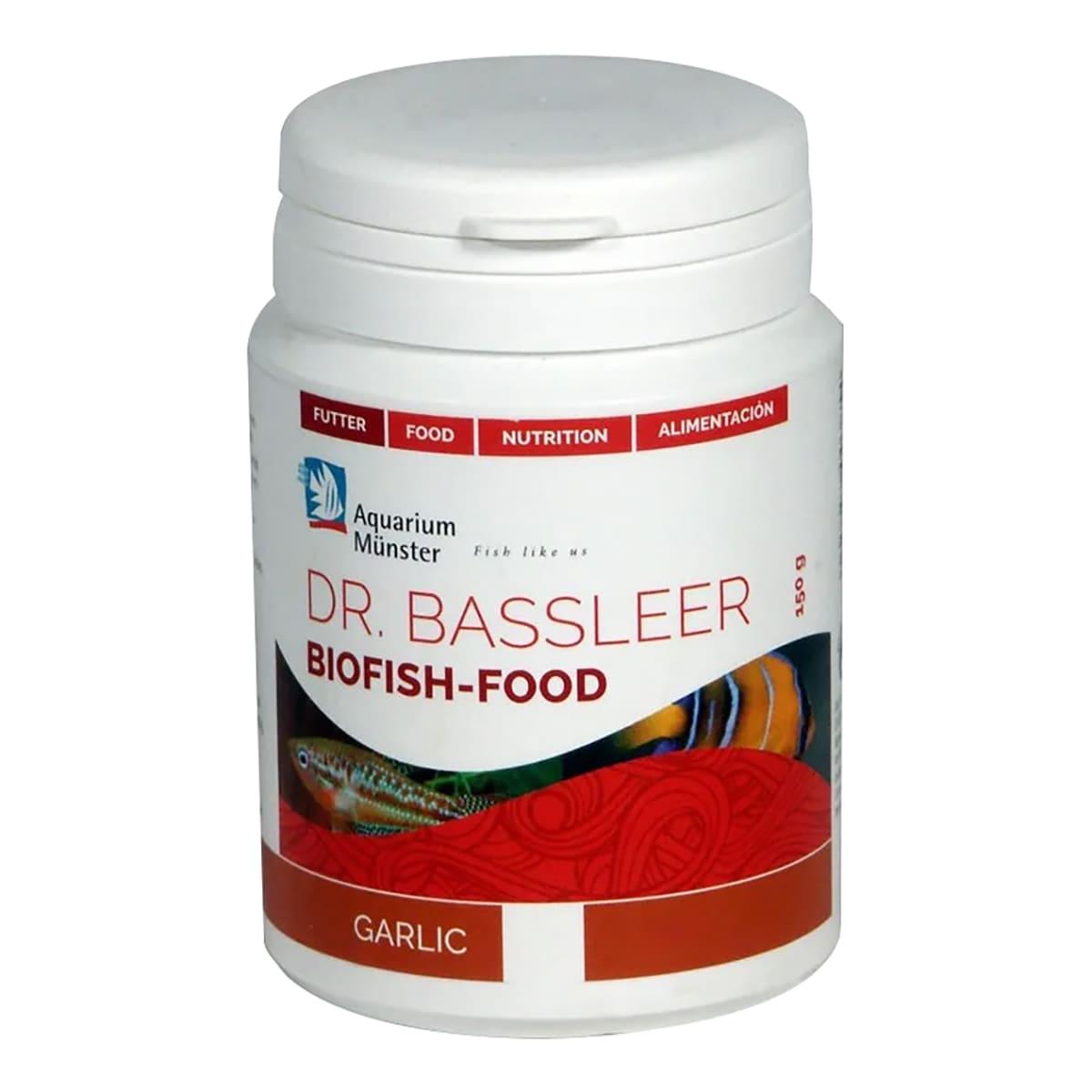 Ração Dr Bassleer Biofish Garlic XL 68g Aumenta o Apetite