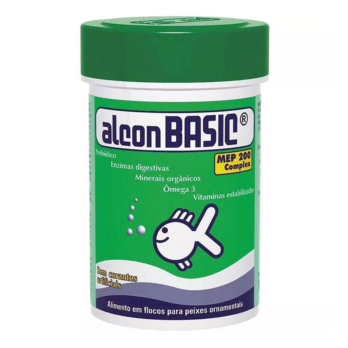 Ração em Flocos para Peixes Alcon Basic 10g