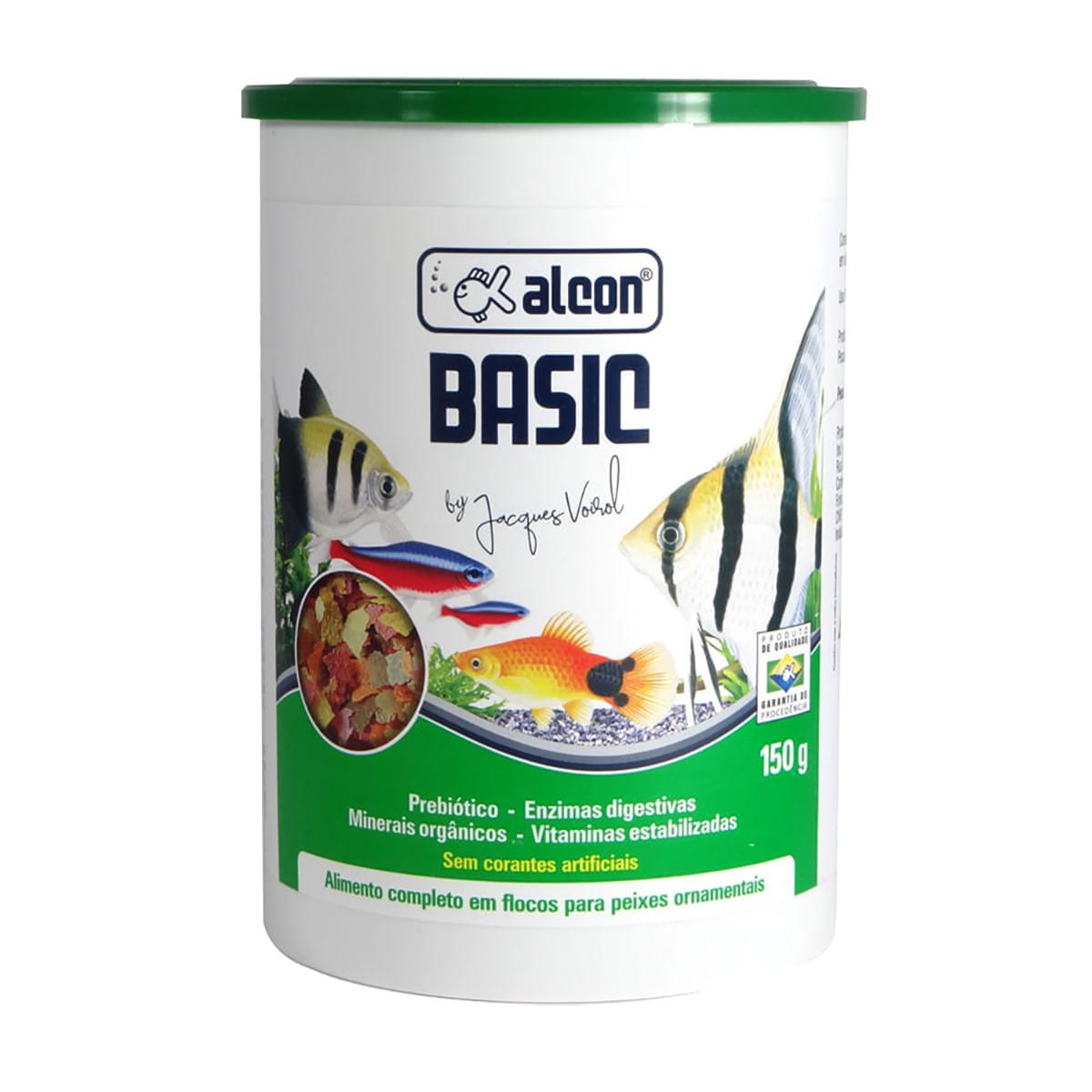 Ração em Flocos para Peixes Alcon Basic 150g