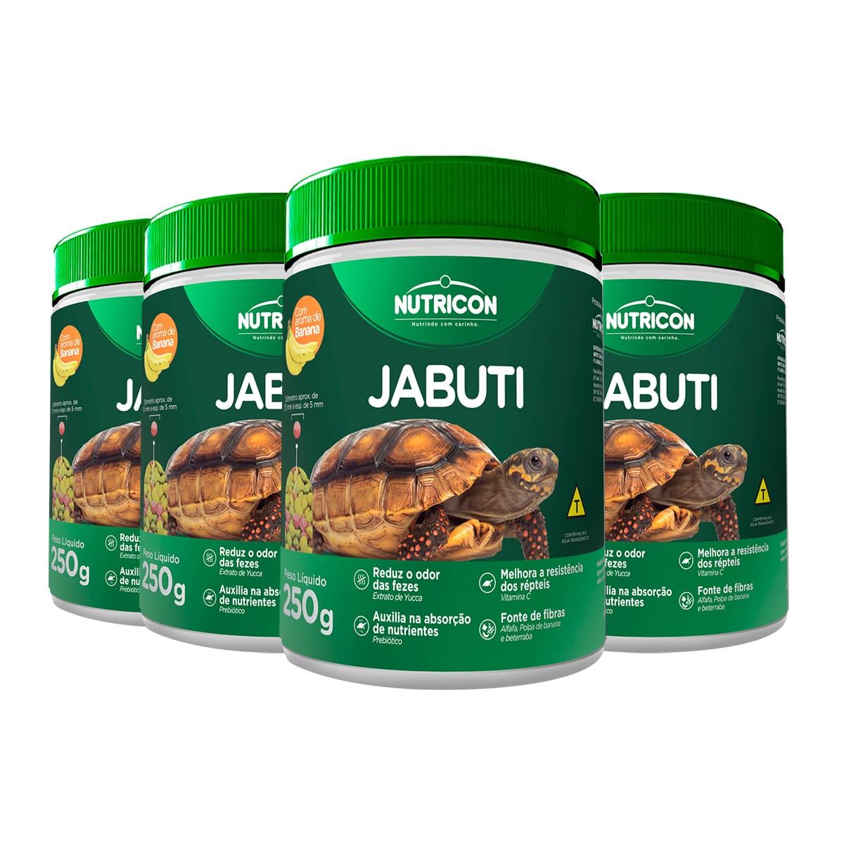 Ração Nutricon Jabuti 1kg - Alimento com Aroma de Banana