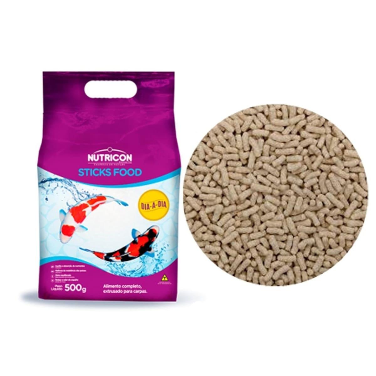Ração Nutricon Sticks Food Dia-A-Dia 1,5kg - Carpas Adultas