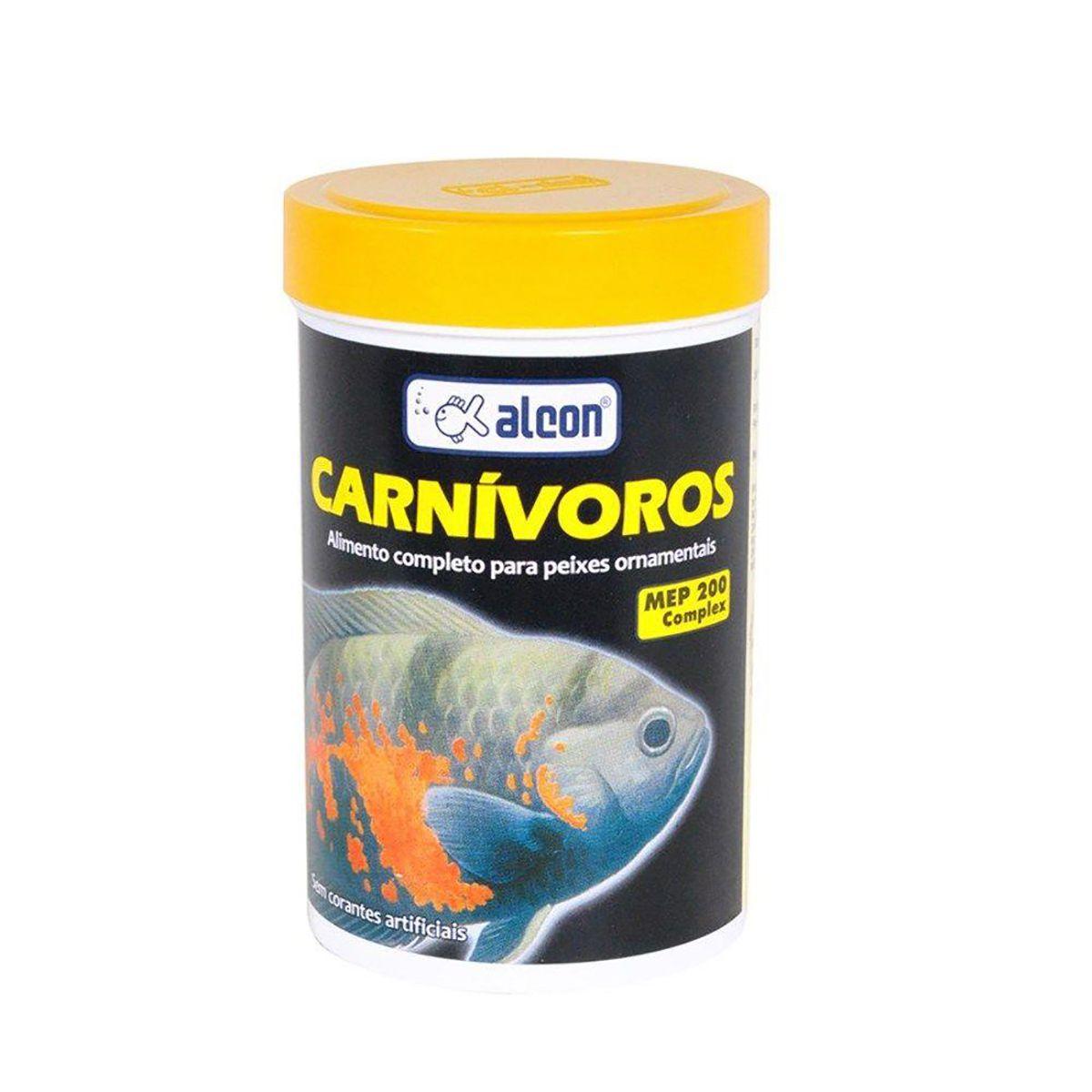 Ração para Peixes Carnívoros Alcon - 90g