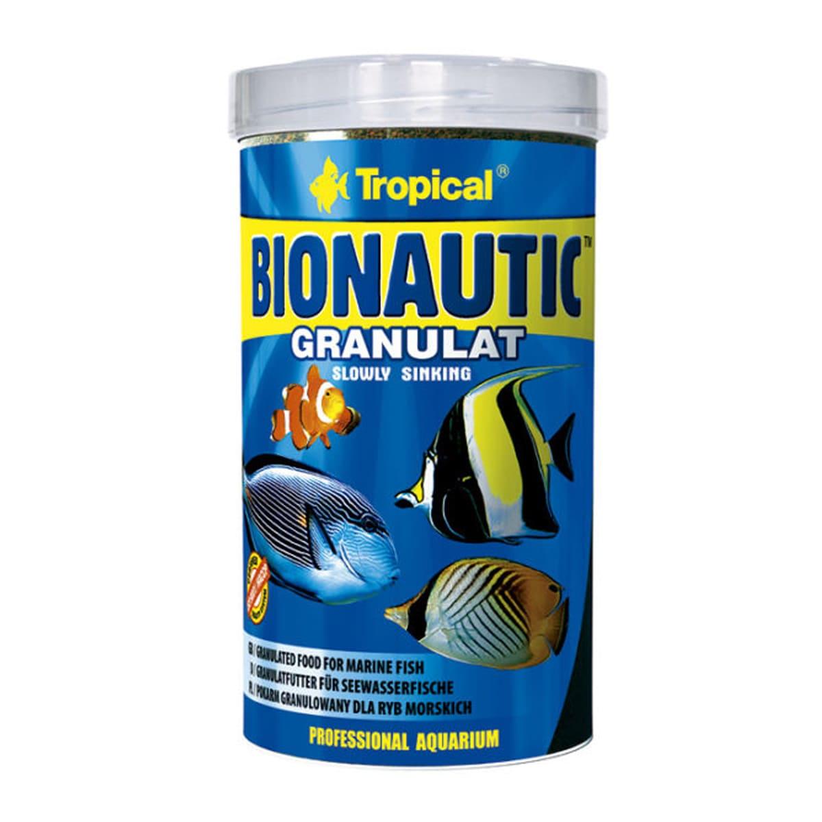 Ração Tropical Bionautic Granulat 275g Marinhos Onívoros