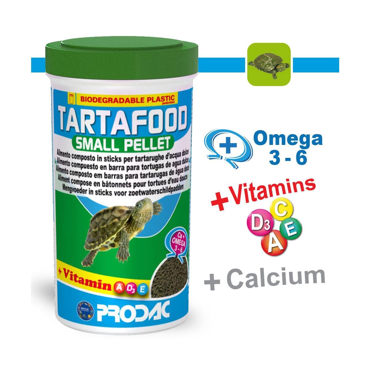 Ração Prodac Tartafood Small Pellet 75g Tartarugas Aquáticas