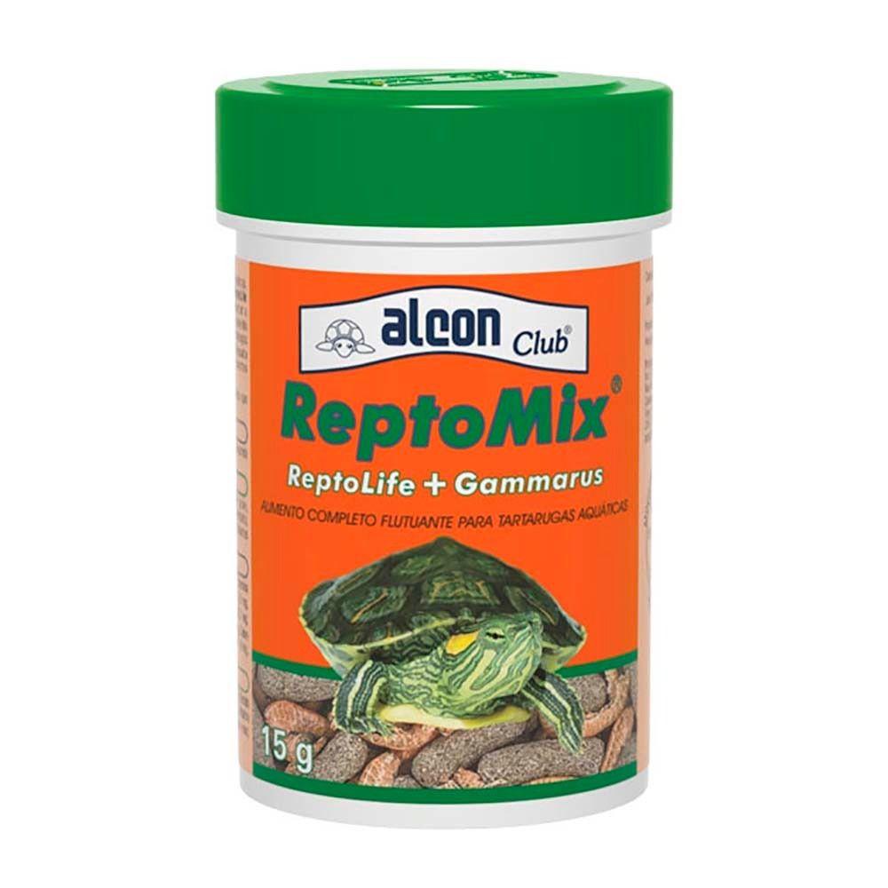Ração Alcon Reptomix 15g Reptolife + Gammarus