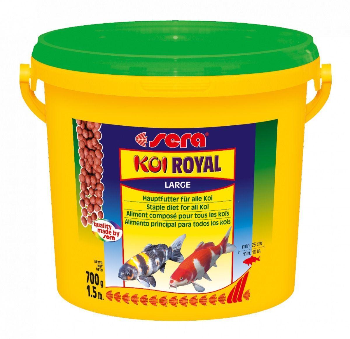 Ração Sera Koi Royal Large 700g - p/ Todas as Carpas Koi