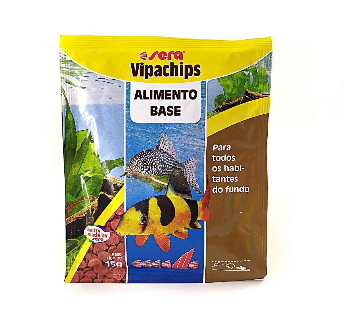 Ração Sera Vipachips 15g