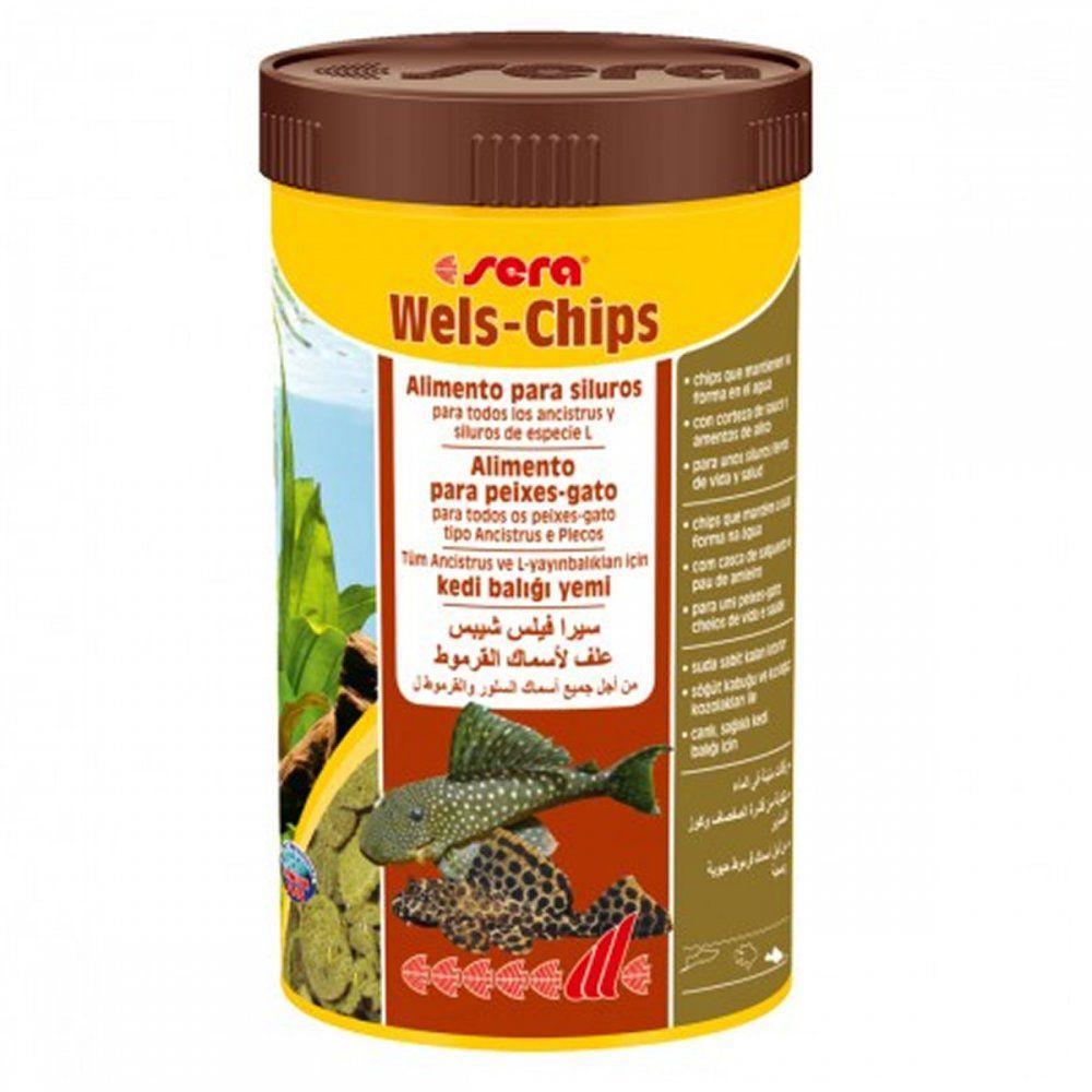 Ração para Cascudos de Raça Wels-Chips 38g - Ancistrus e Pleco