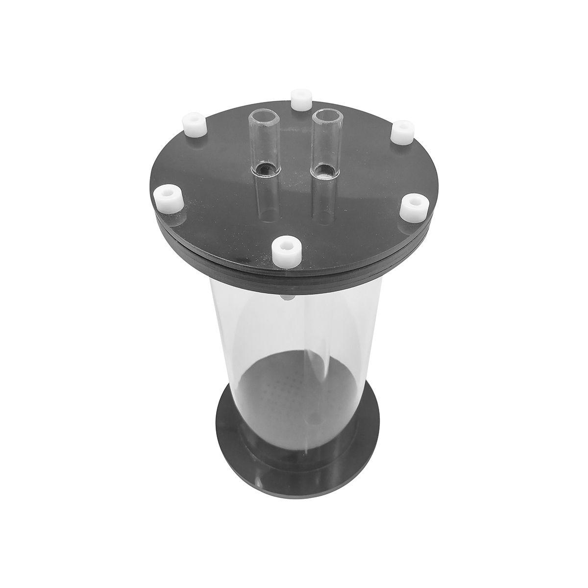 Reator de Mídias (Purigen/Carvão/Fosfato) R-1500 -1,5 Litros