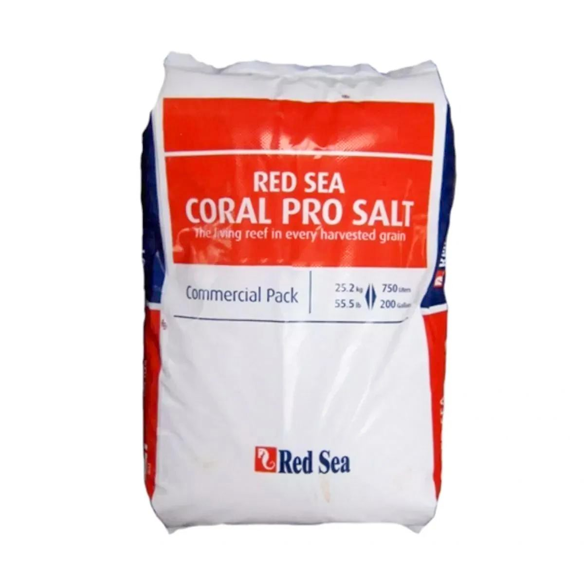Sal Red Sea Coral Pro 25kg Rende até 750 Litros