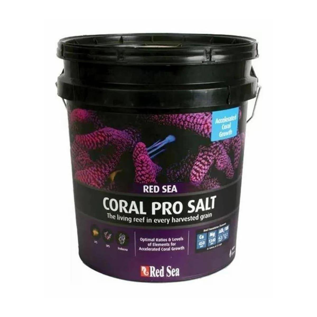 Sal Red Sea Coral Pro 7kg para Corais Rende até 210 Litros