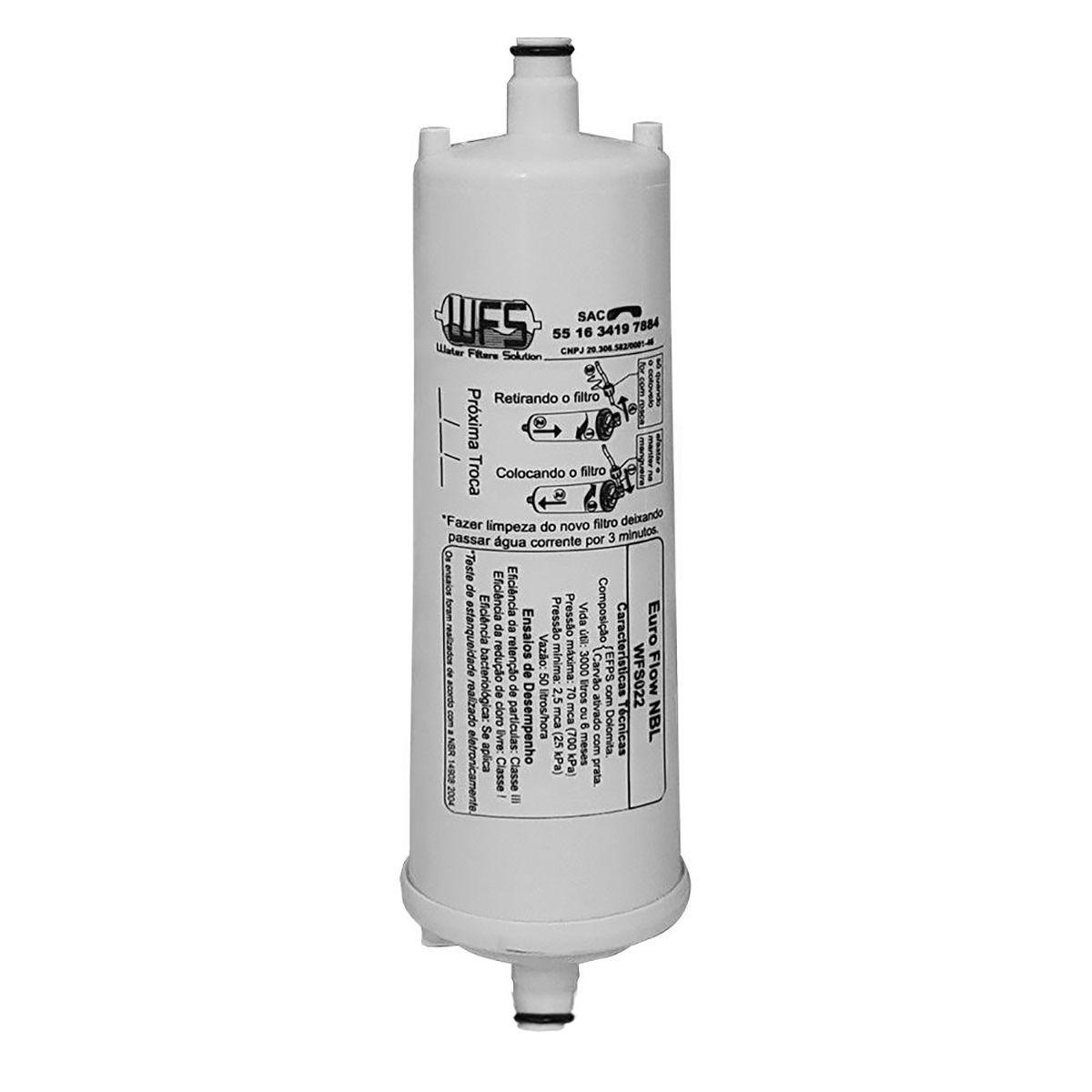 Refil WFS 001 Easy Flow- Electrolux Brastemp c/ Engate Rápido
