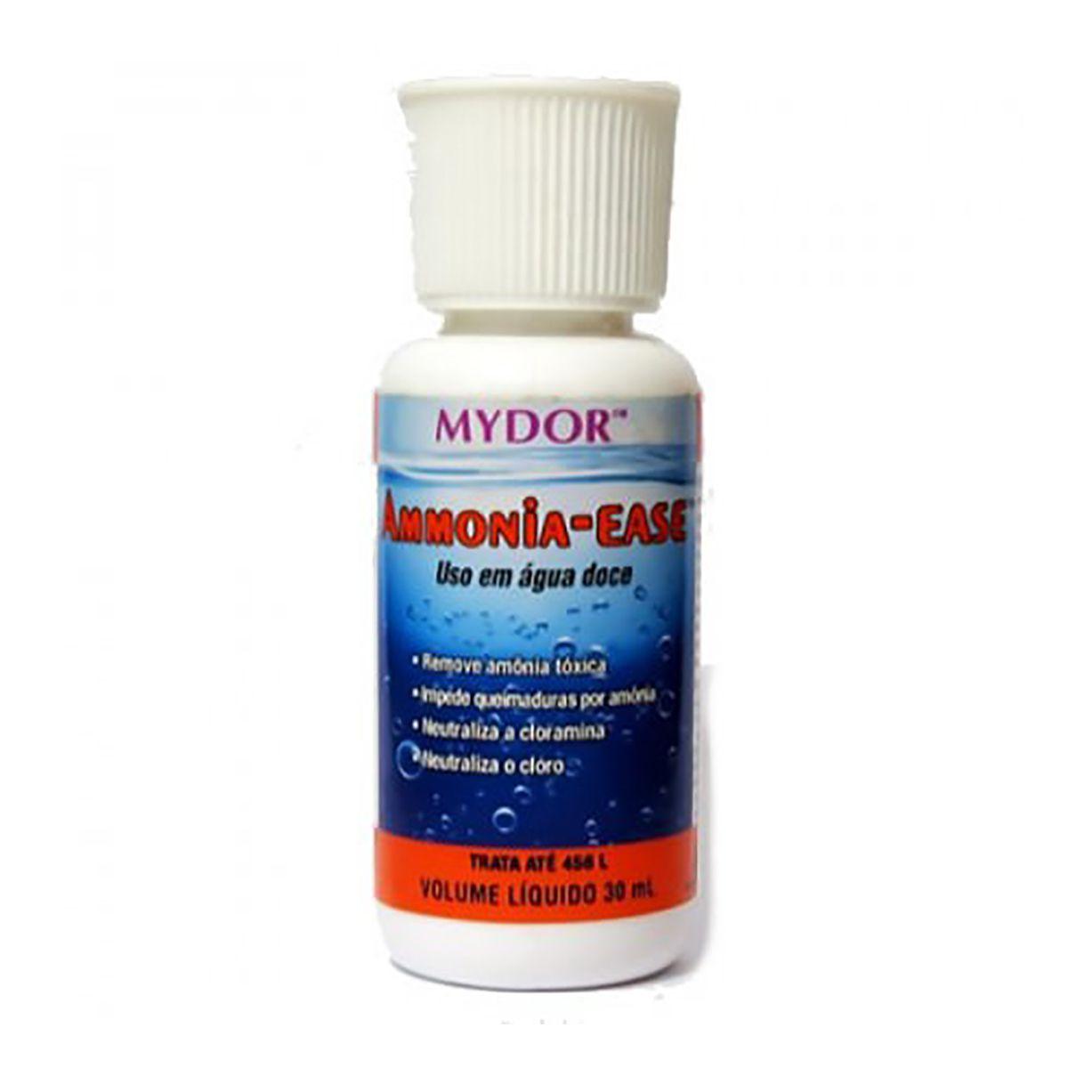 Mydor Ammonia Ease 30ml Removedor de Amônia para Aquários