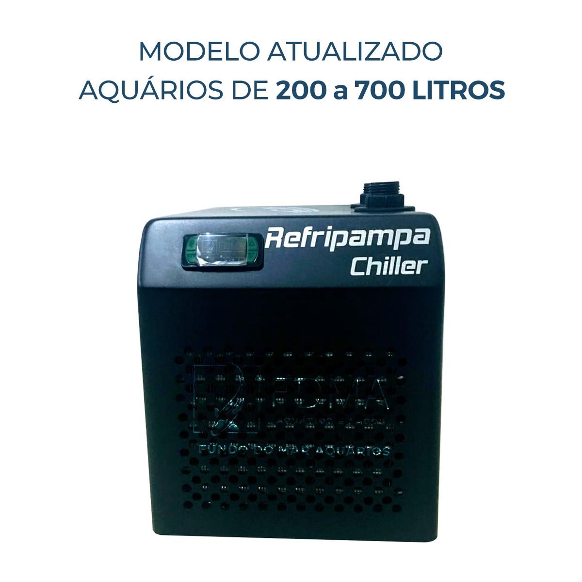 Resfriador Chiller Refripampa 1/5+ Hp RF700 - Aquários 700lL