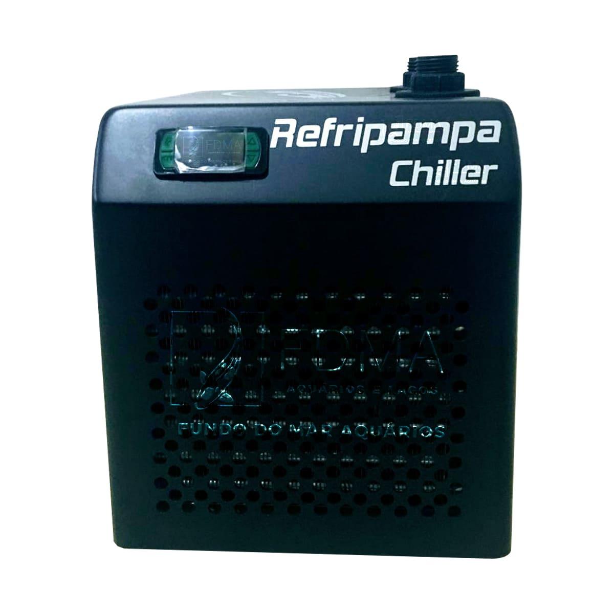 Resfriador Chiller Refripampa 3/4 Hp RF2000 Aquários 2000L